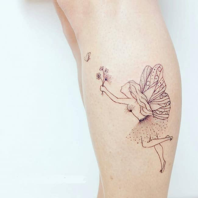 293bf168a 148 Most Attractive Fairy Tattoos Meanings (July 2019)
