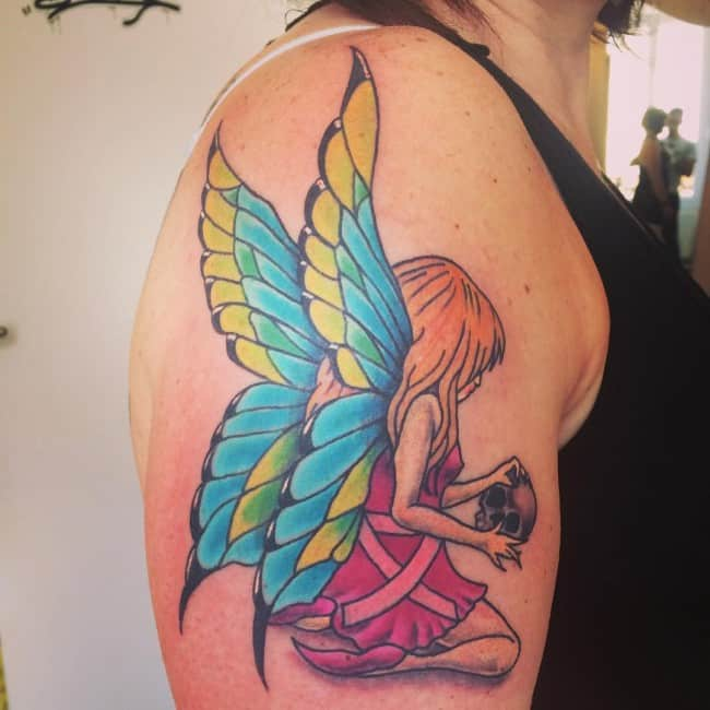 Fairy Tattoos Designs Ideas And Meaning: 148 Most Attractive Fairy Tattoos Meanings (July 2019
