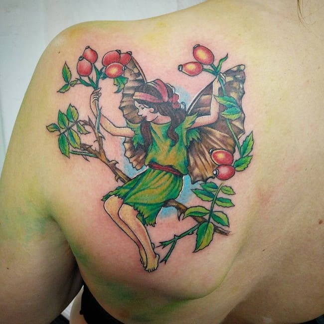 fairy tattoo 37