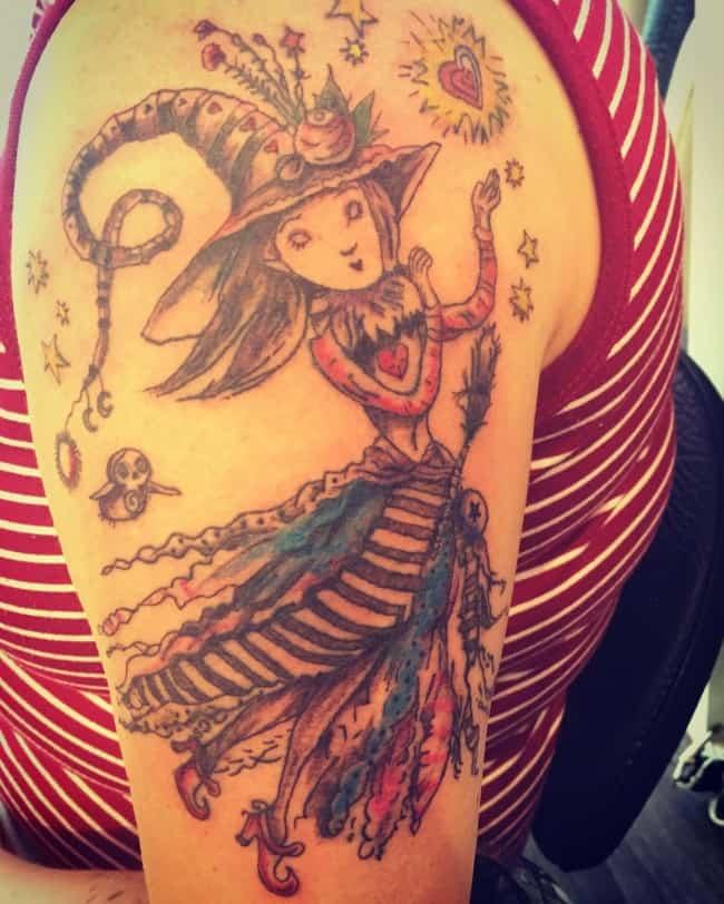 fairy tattoo 9