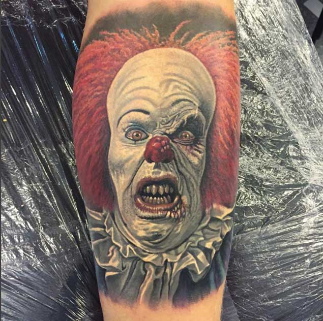 pennywise-clown-tattoo