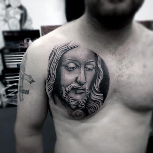 realistic-male-simple-christian-tattoos-on-chest
