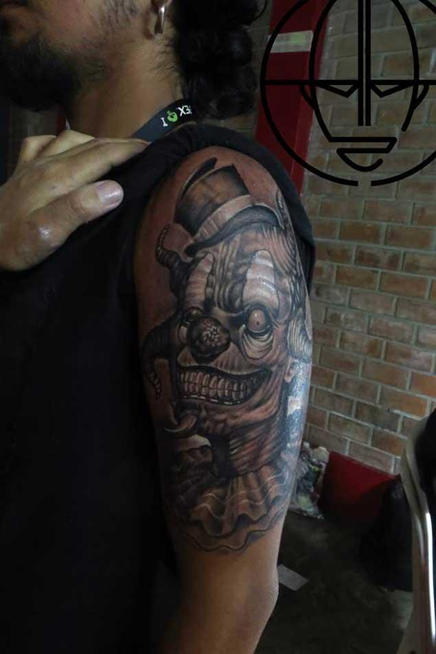 Killer Clown Tattoo