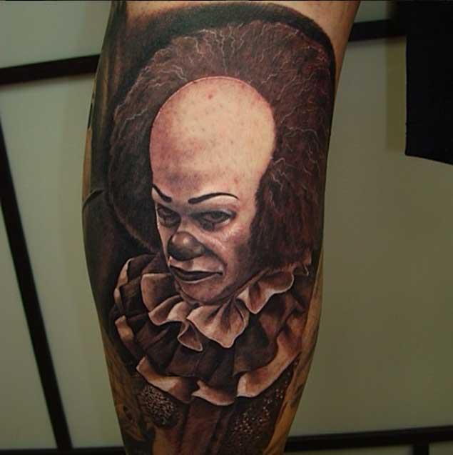 scary-clown-tattoo