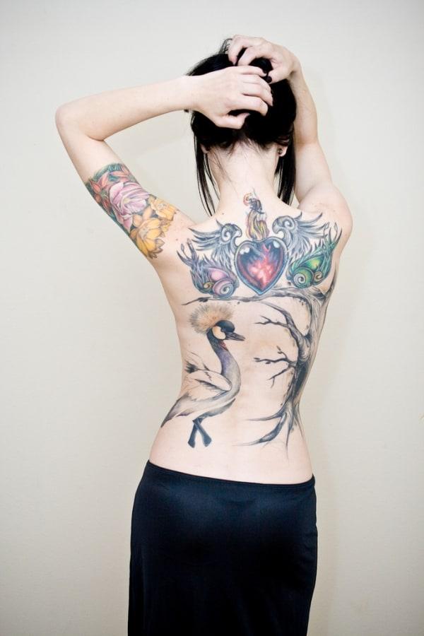 Stunning Back Tattoo
