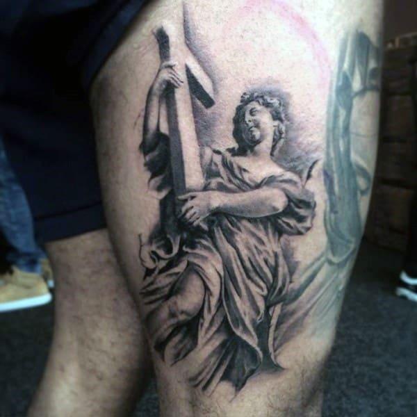 thigh-leg-christian-tattoo-designs-for-men