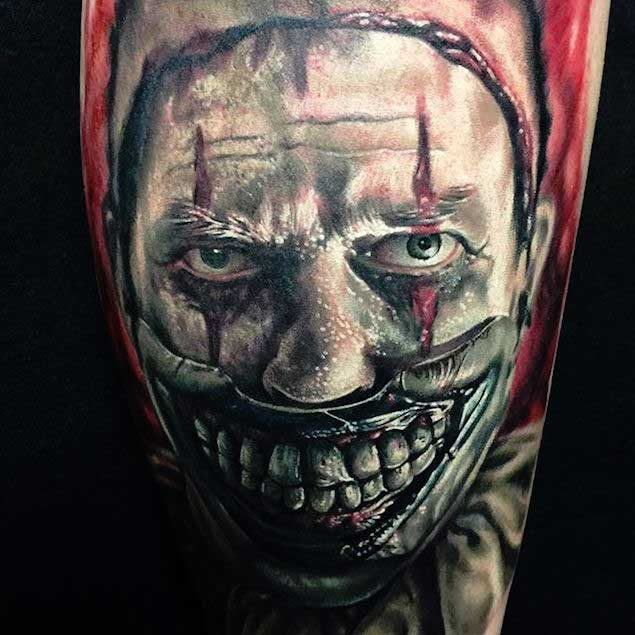 100+ Hilarious Clown Tattoos Meanings (July 2019