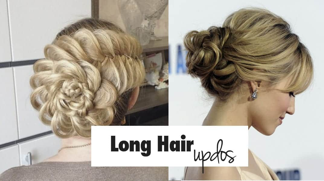 30 Easy Updo Hairstyles For Long Hair (Updated September 2019