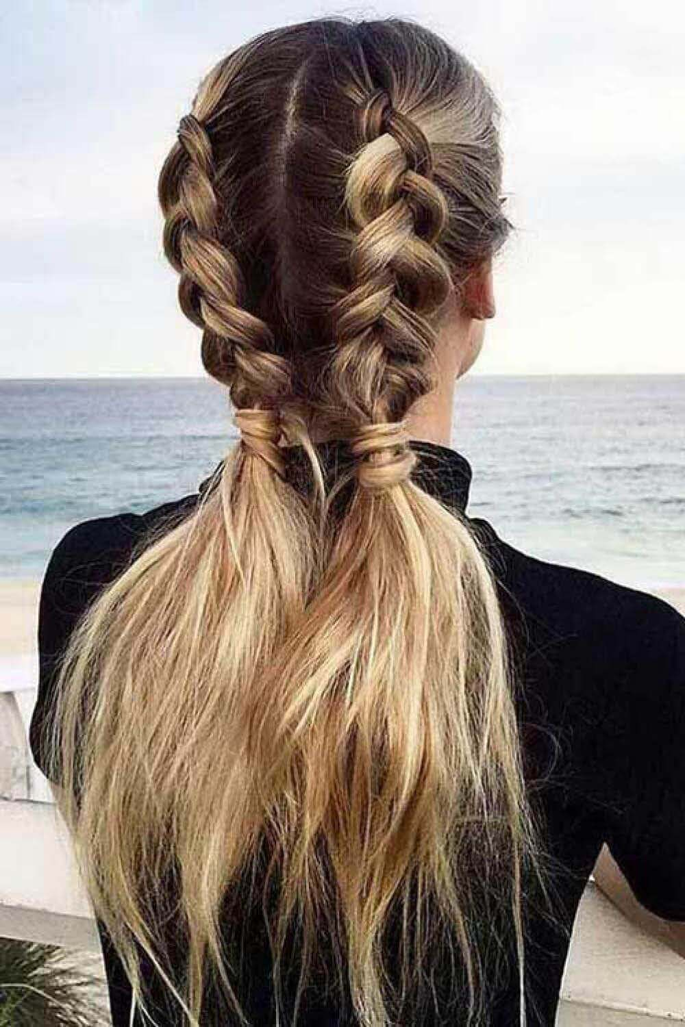 braids with pigtails