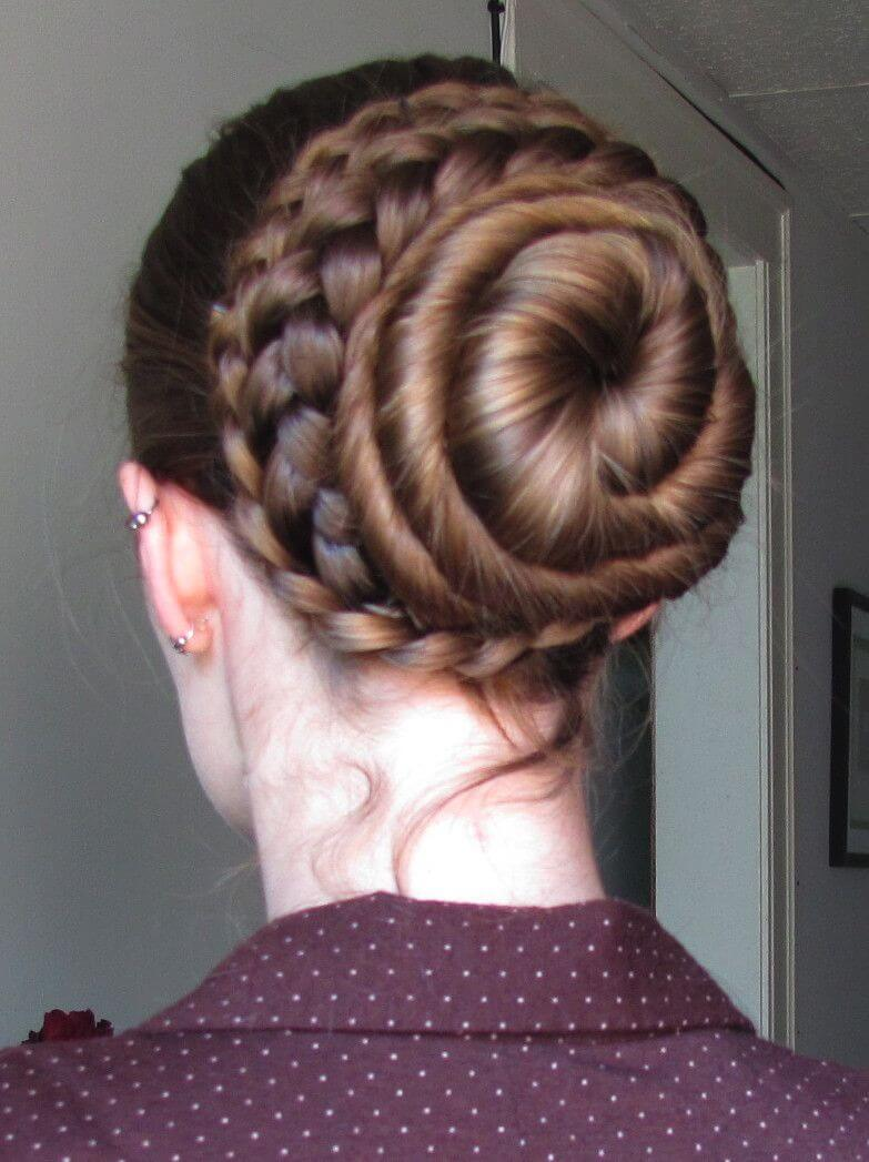 coiled braid