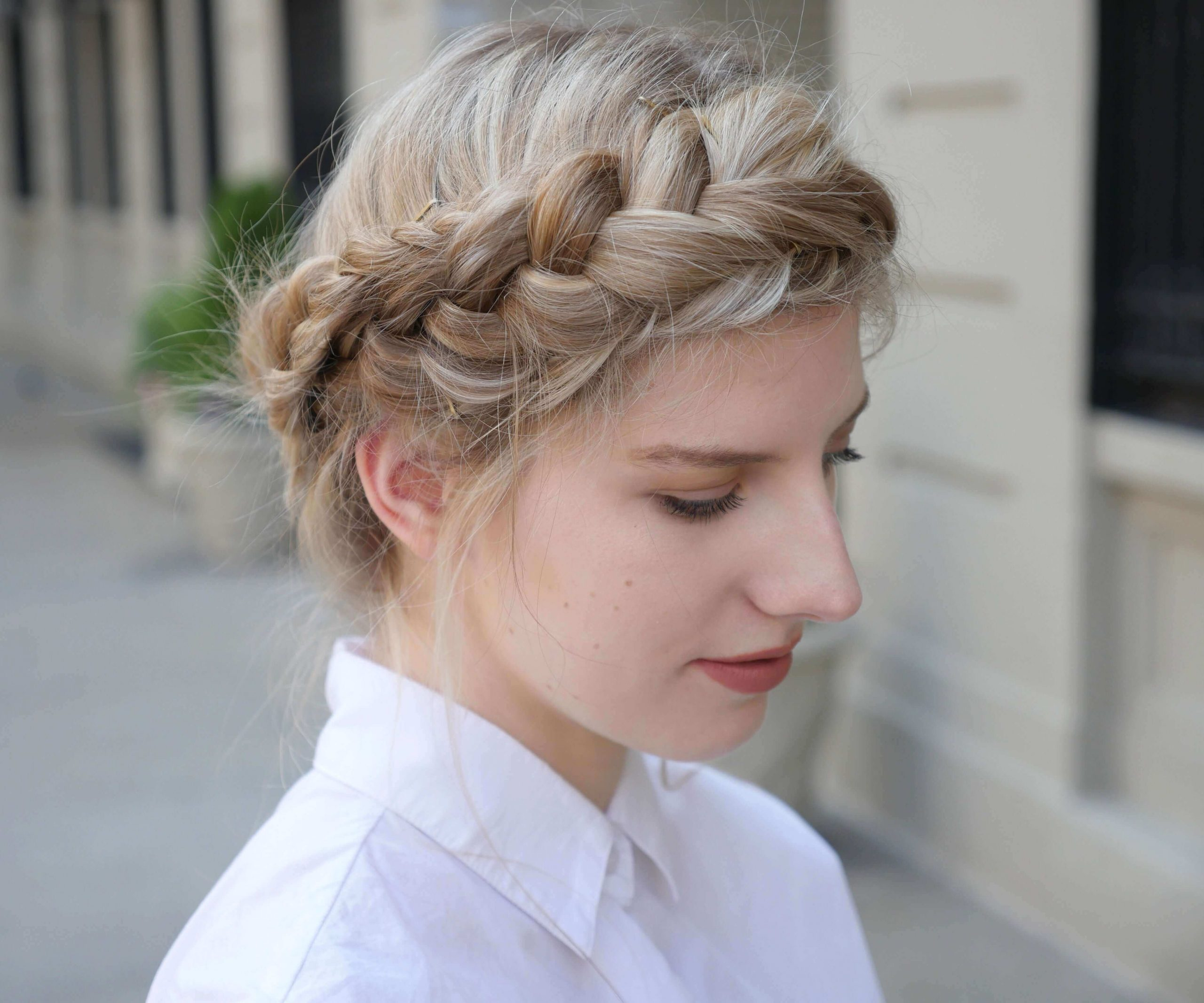 crown style braids