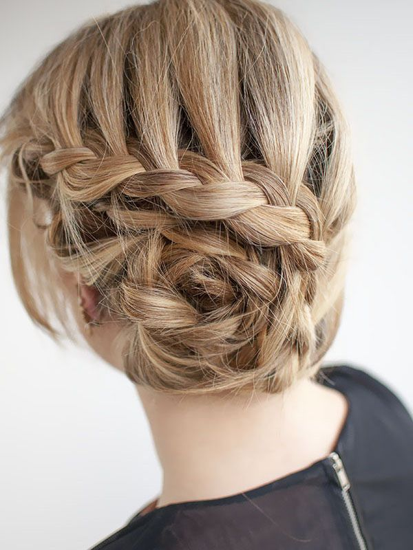 curved braid