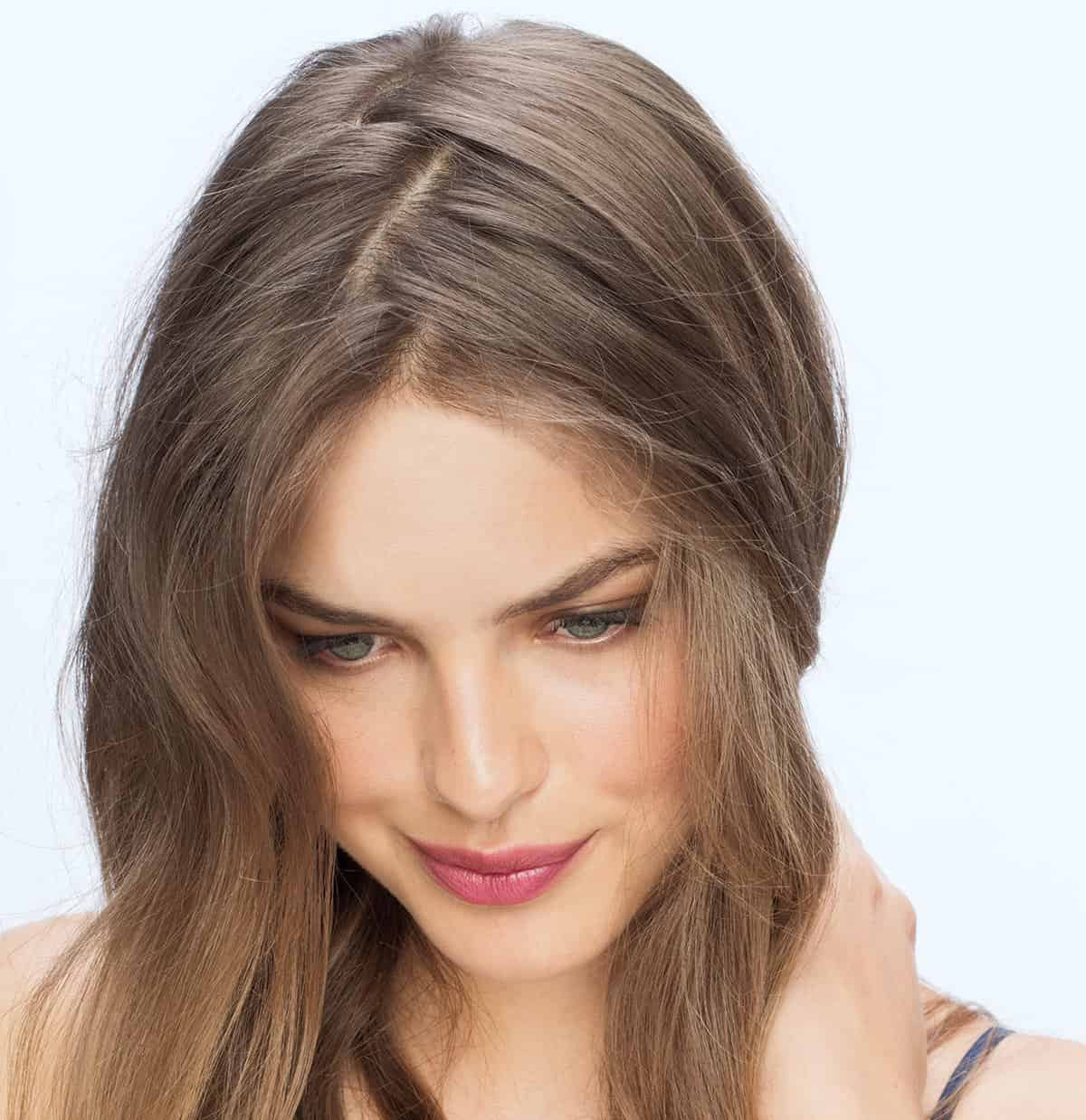 Image result for Parting Ways Hairstylehair style