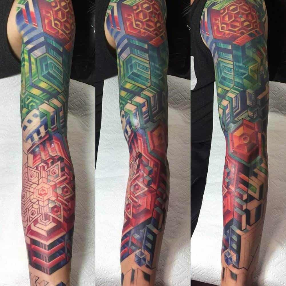 irezumi tattoo on arm