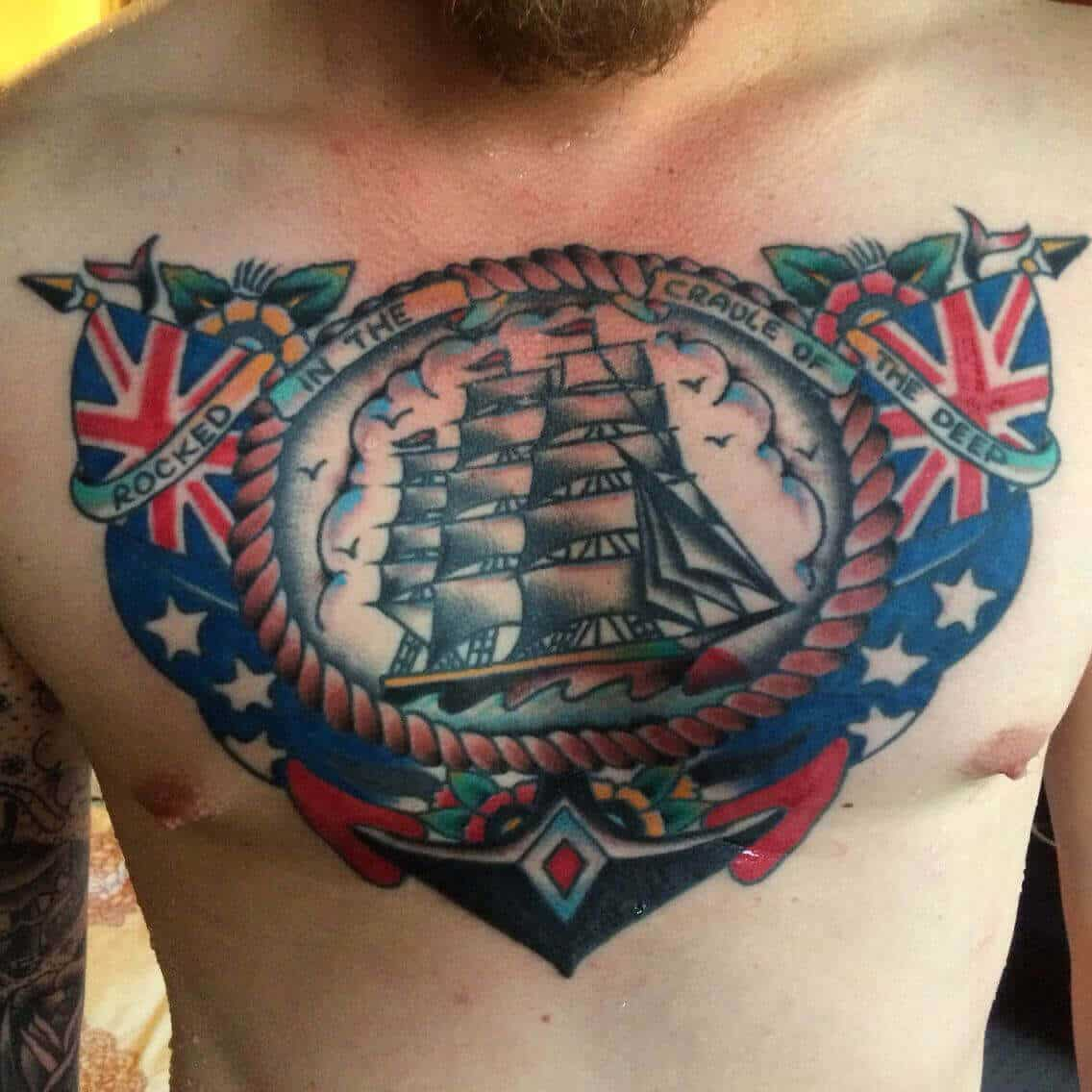 sailor jerry chest tattoo