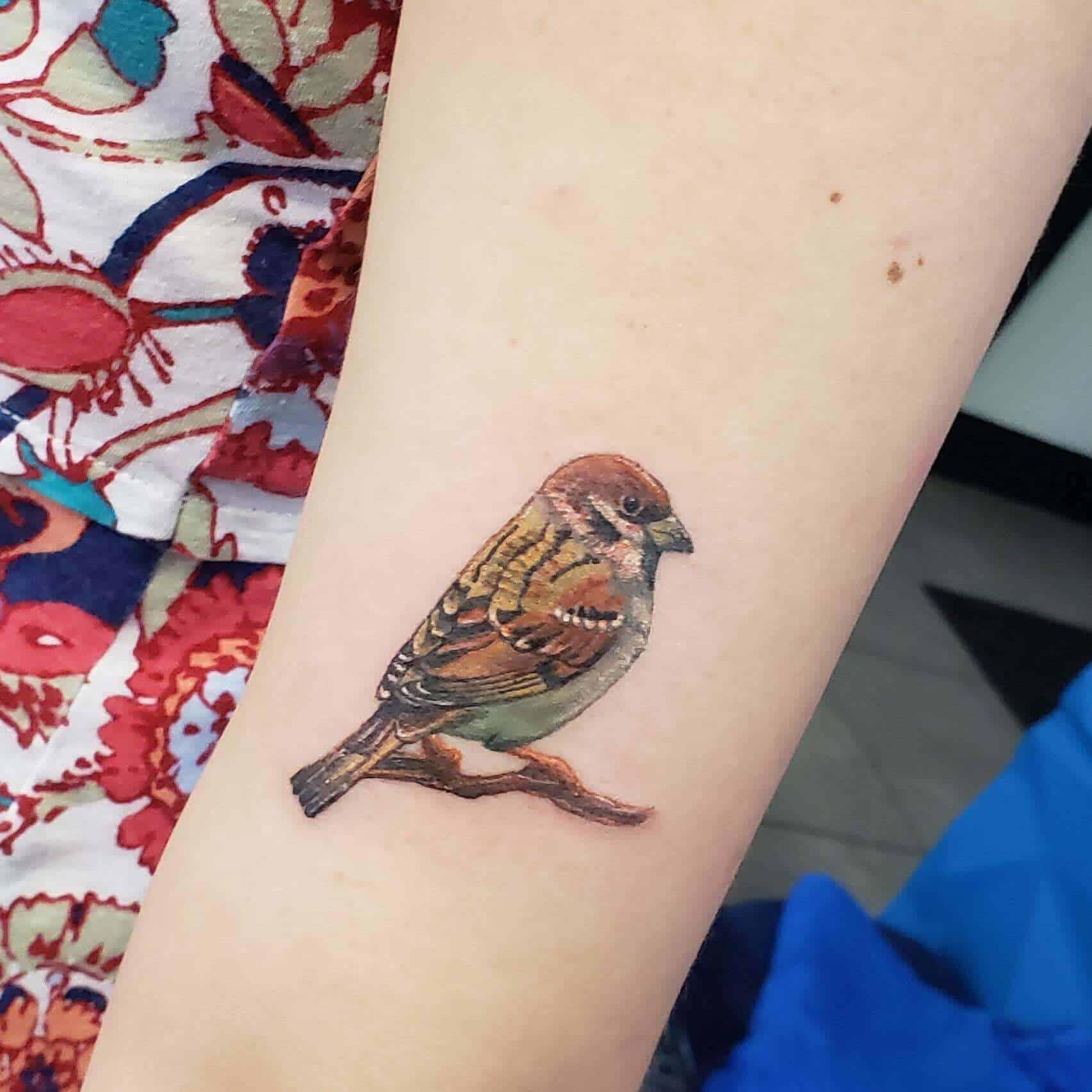 45 Impressive Sparrow Tattoo Ideas - Tattoo Inspiration ...