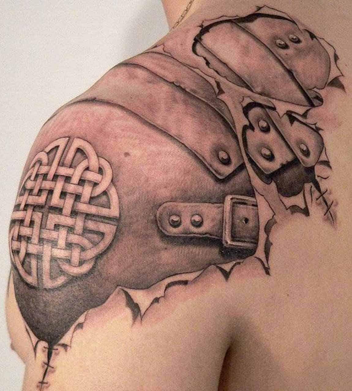 3d celtic tattoo