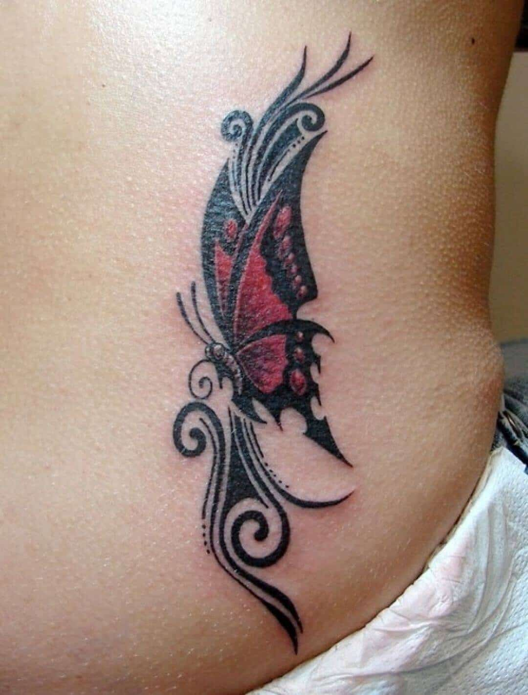 butterfly celtic tattoo