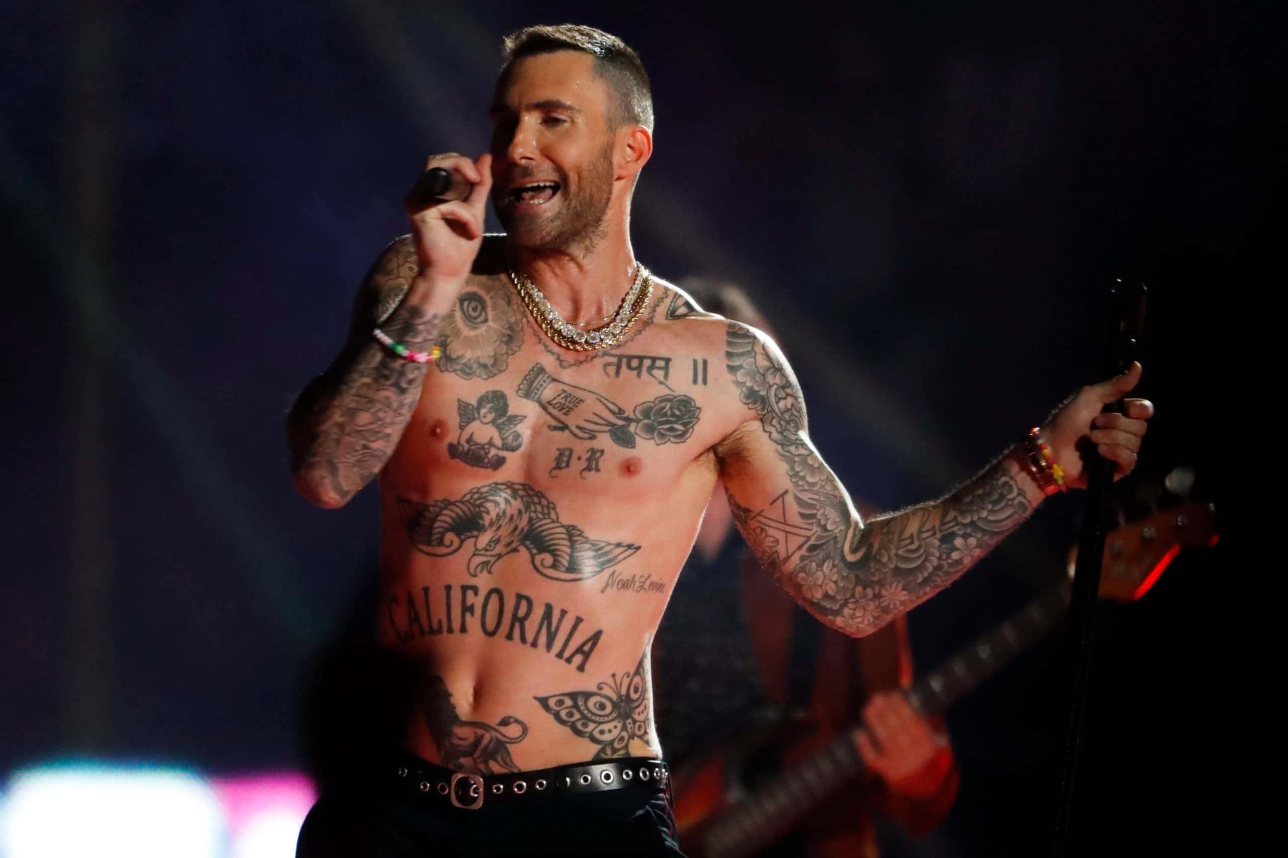 adam levine d and r tattoo