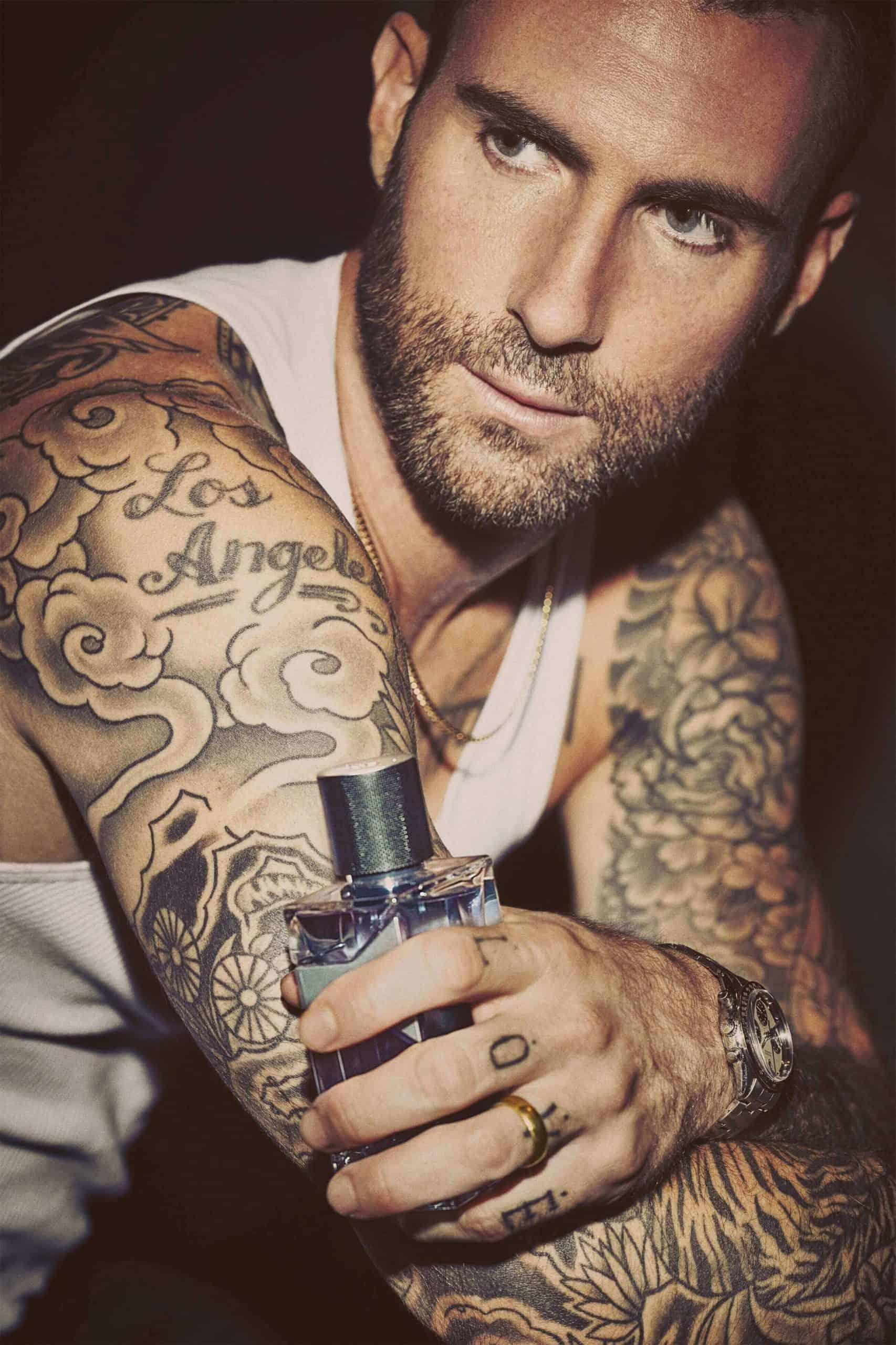 adam levine los angeles tattoo