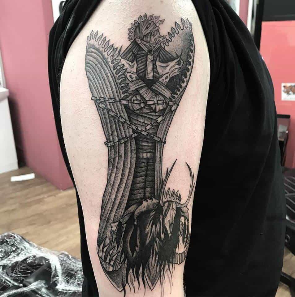 final fantasy 10 arm tattoo