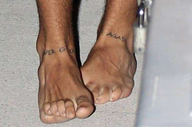 harry styles never gonna dance again tattoo