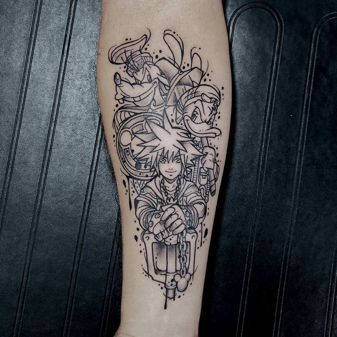 sora arm tattoo