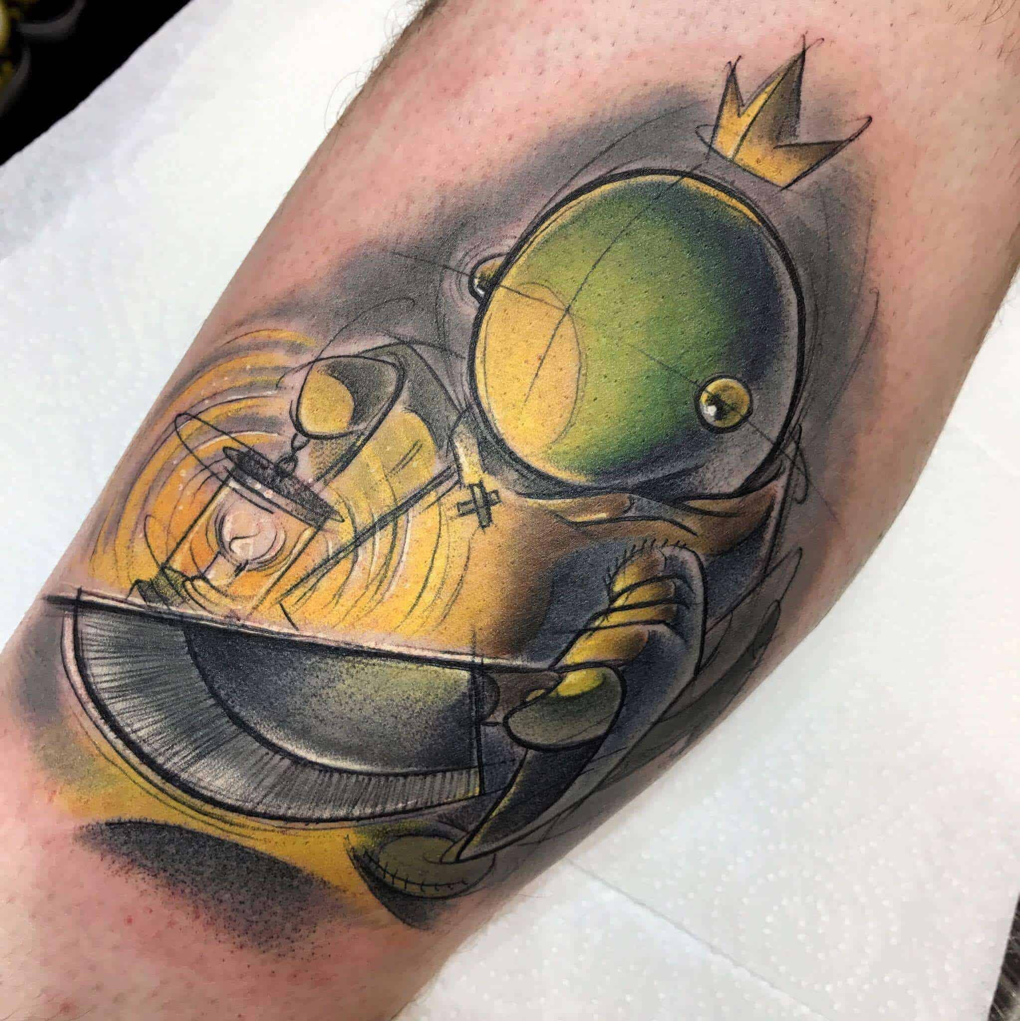 tonberry tattoo