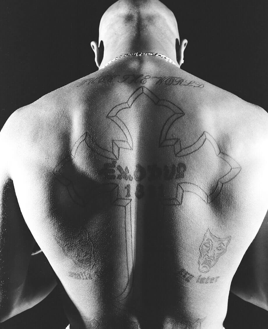 tupac shakur fuck the world tattoo