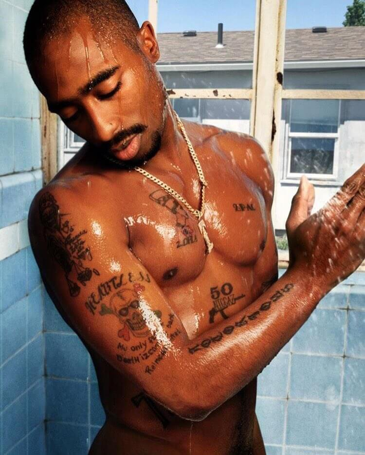 tupac shakur notorious tattoo