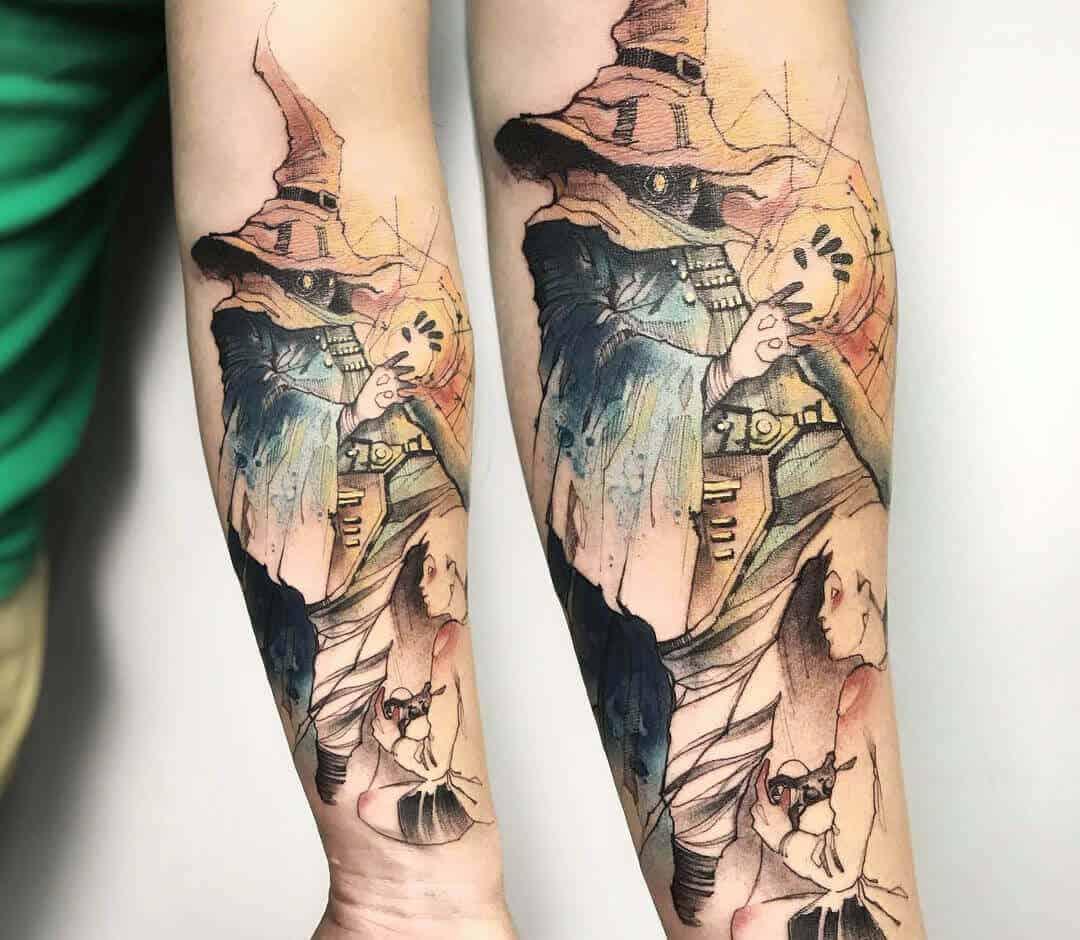 vivi sleeve tattoo
